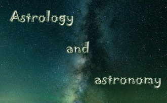 Space, 'Astrology and astronomy'