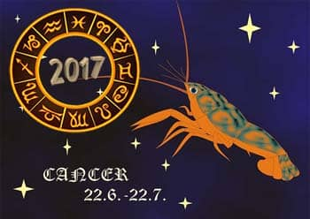 horoscope, Cancer, 2017