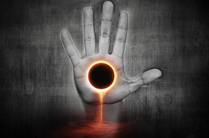 eclipse, hand