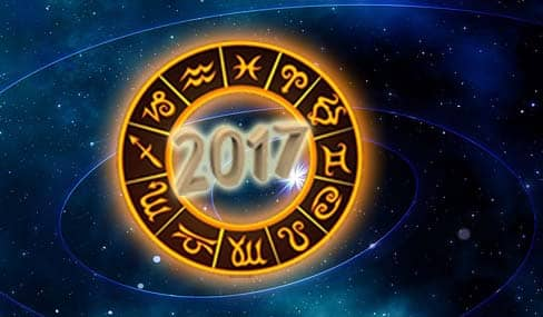 2017, horoscope, zodiac, space